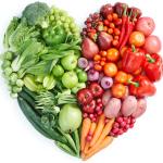 alimenti a forma di cuore